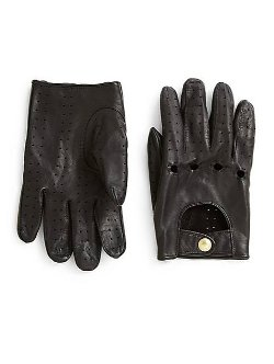 Kent and Curwen - Classic Leather Driving Gloves