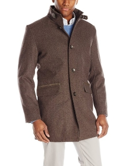 Kenneth Cole - Wool-Blend Walker Coat