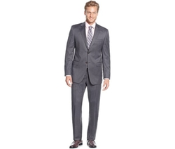Lauren Ralph Lauren  - Slim-Fit Medium Grey Stripe Suit