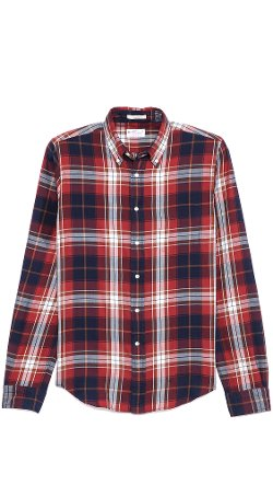 Gant Rugger - Large Check Sport Shirt