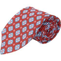 Kiton  - Floral-medallion Tie
