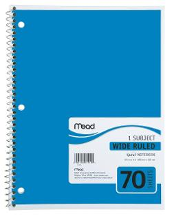 Mead  - Spiral Notebook