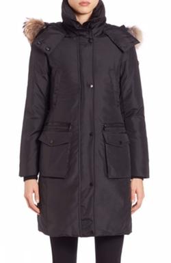 Andrew Marc  - Fur-Trimmed Parka Coat