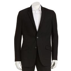 Apt. 9 - Slim-Fit Solid Charcoal Suit Jacket - Men