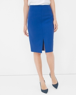 White House Black Market - Midi Split-Front Pencil Skirt