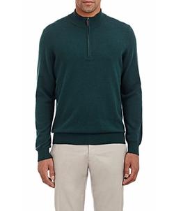 Piattelli - Cashmere Half-Zip Sweater