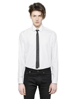 Saint Laurent  - Cotton Poplin Shirt