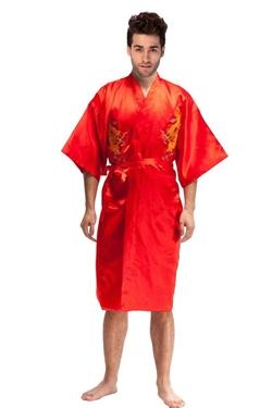 The Bund  - Long Kimono Bath Robe