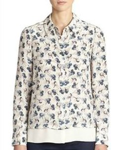 Tory Burch - Silk Pamela Shirt