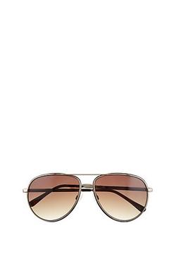 Vince Camuto  - Wire Rim Colored Aviator Sunglasses