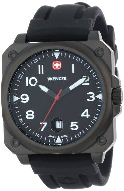 Wenger - 72424 AeroGraph Cockpit Coated Watch