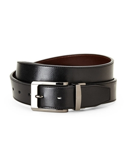Dockers - Reversible Leather Pebbled Belt
