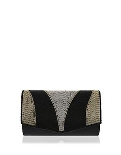 Nina - Mika Beaded Clutch Bag