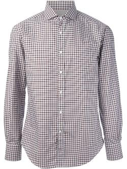 Brunello Cucinelli  - Checked Shirt