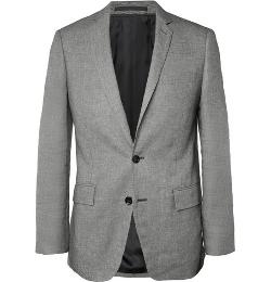 J.Crew   - Slim-Fit Woven Linen and Cotton-Blend Suit Jacket