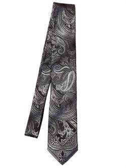Etro  - Paisley Silk Jacquard Tie