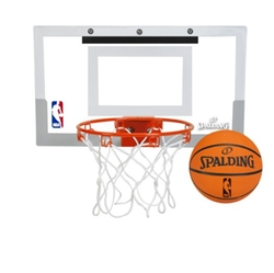 Spalding - NBA Slam Jam Over-The-Door Mini Basketball Hoop