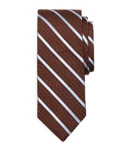 Brooks Brothers - Twill Satin Stripe Tie