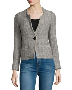 Isabel Marant Etoile - Leary Structured Tweed Blazer