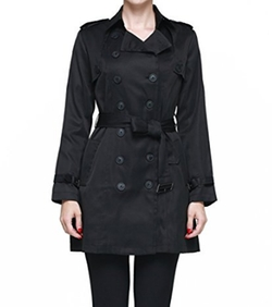 Camii Mia - Classic Double Breasted Trench Coat