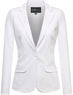 Fifth Parallel Threads  - Womens Basic Boyfriend Blazer