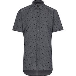 River Island - Floral Print Short Sleeve Shirt