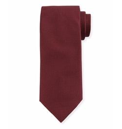 Canali - Textured Solid Silk Tie
