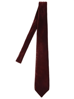 Giorgio Armani - Viscose & Silk Velvet Tie