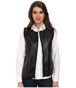 Jones New York  - Faux Leather Vest