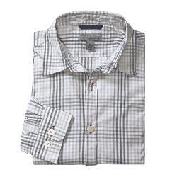 Martin Gordon  - Plaid Shadow Check Sport Shirt