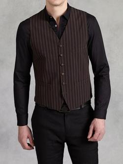 John Varvatos - Vintage Stripe Vest