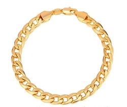 U7 Fashion Jewelry - Classic Cuban Chain Bracelet