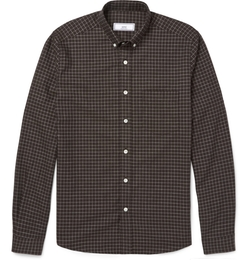 Ami - Checked Cotton Shirt