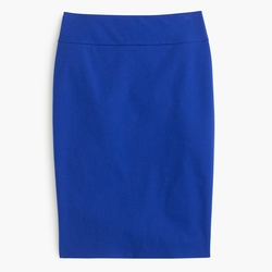 J.Crew - Bi-Stretch Cotton Pencil Skirt