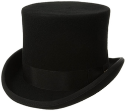 Scala Classico - Wool Felt English Topper Hat