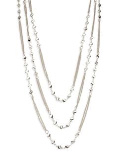 Panacea - Three Row Charm Necklace