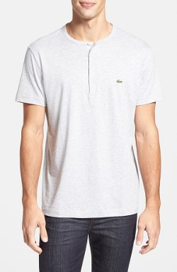Lacoste  - Short Sleeve Henley T-Shirt