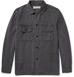 Remi Relief - Patchwork-Effect Cotton Shirt Jacket