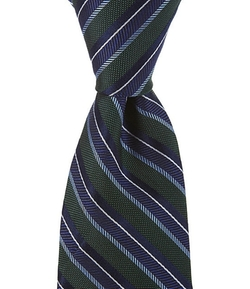 Cremieux - Double Stripe Silk Tie