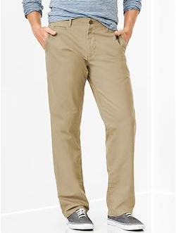 Gap - Lived-In Relaxed Khaki