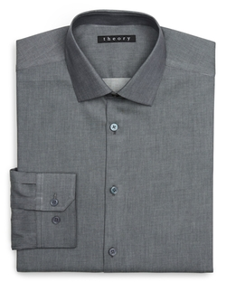 Theory - Slim Fit Dress Shirt
