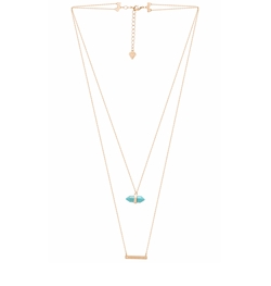 Wanderlust + Co - Celeste Bar Necklace