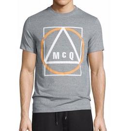 McQ by Alexander McQueen - Logo-Print Short-Sleeve T-Shirt