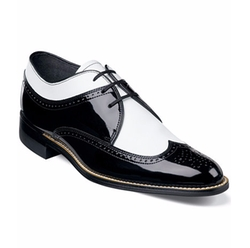 Stacy Adams - Dayton Wing-Tip Lace-Up Shoes