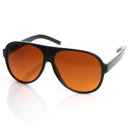 Sunglass Spot - Retro 80s Tear Drop Plastic Aviator Sunglasses