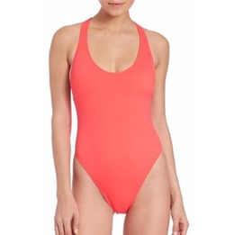 Milly - One-Piece Italian Solid Marini Maillot Swimsuit