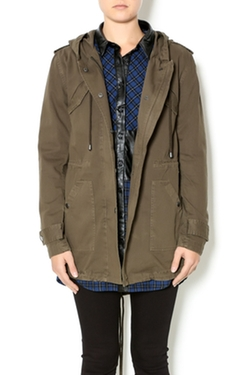 Velvet - Hooded Lightweight Parka