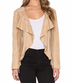 Bishop + Young - Fringe Suede Jacket