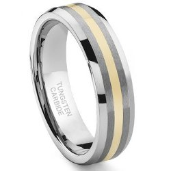 Titanium Kay - Inlay Wedding Band Ring
