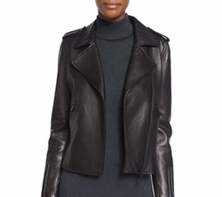 Badgley Mischka - New Leather Moto Jacket